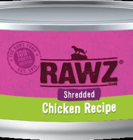 RAWZ RAWZ CAT SHREDDED CHICKEN RECIPE 3OZ CASE OF 18