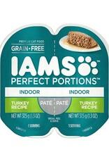 IAMS COMPANY IAMS CAT PERFECT PORTIONS INDOOR TURKEY PATE 2.6OZ CASE OF 24