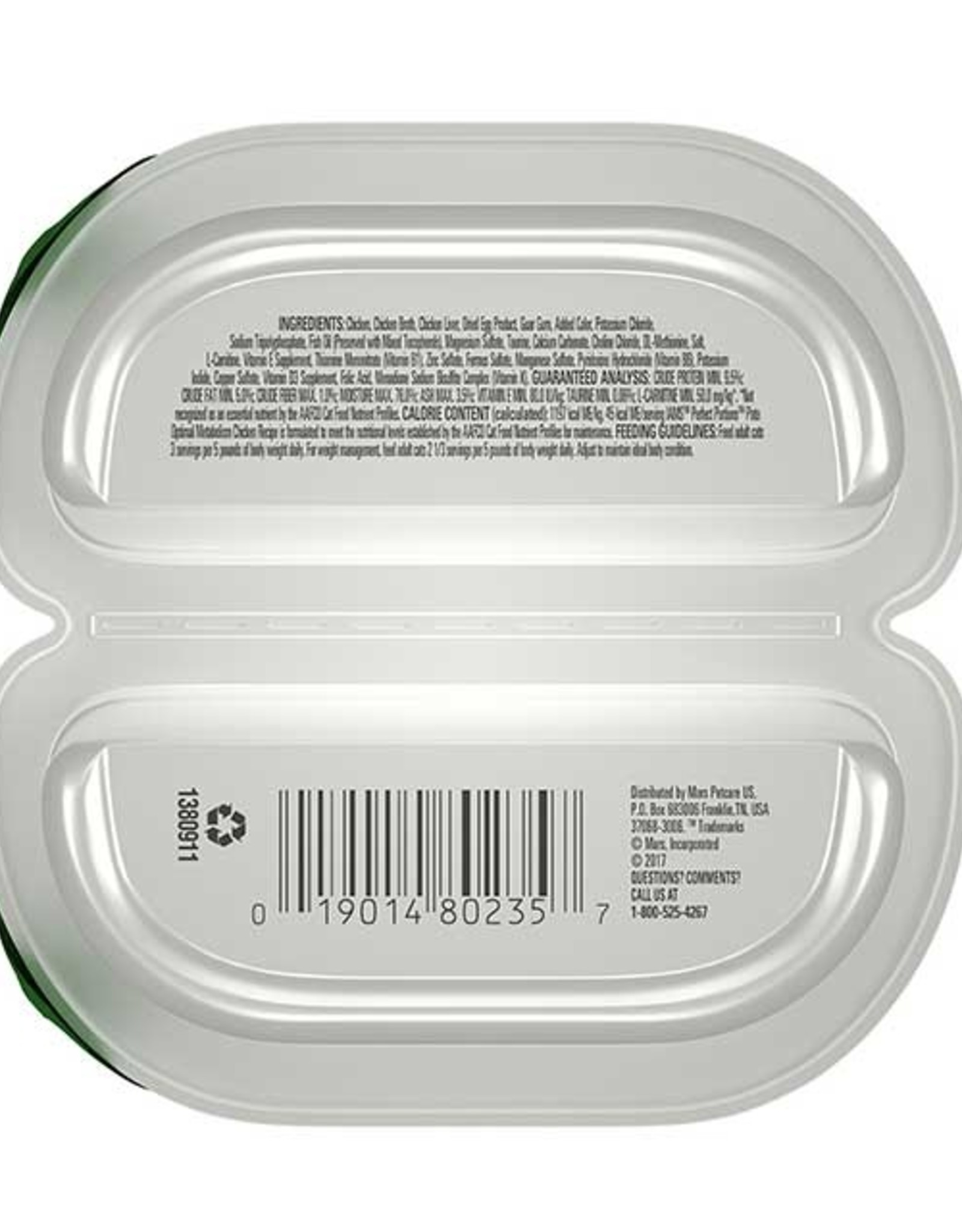 IAMS COMPANY IAMS CAT PERFECT PORTIONS OPTIMAL METABOLISM CHICKEN PATE 2.6OZ CASE OF 24
