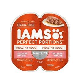 IAMS COMPANY IAMS CAT PERFECT PORTIONS SALMON PATE 2.6OZ CASE OF 24