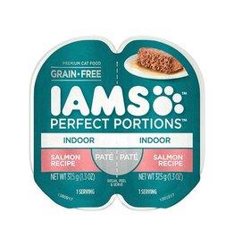 IAMS COMPANY IAMS CAT PERFECT PORTIONS INDOOR SALMON PATE 2.6OZ CASE OF 24