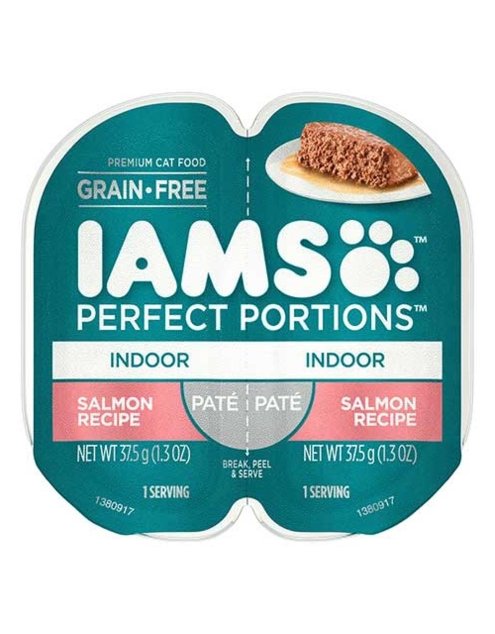 IAMS COMPANY IAMS CAT PERFECT PORTIONS INDOOR SALMON PATE 2.6OZ