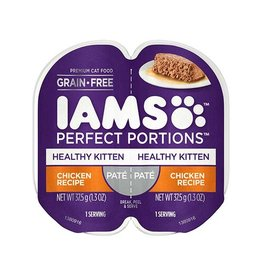 IAMS COMPANY IAMS KITTEN PERFECT PORTIONS CHICKEN PATE 2.6OZ