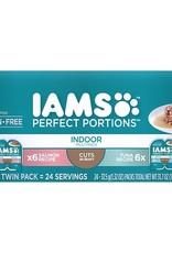 IAMS COMPANY IAMS PERFECT PORTIONS INDOOR SALMON & TUNA VARIETY 12PK