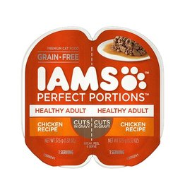 IAMS COMPANY IAMS PERFECT PORTIONS HEALTHY ADULT CHICKEN CIG 2.6OZ