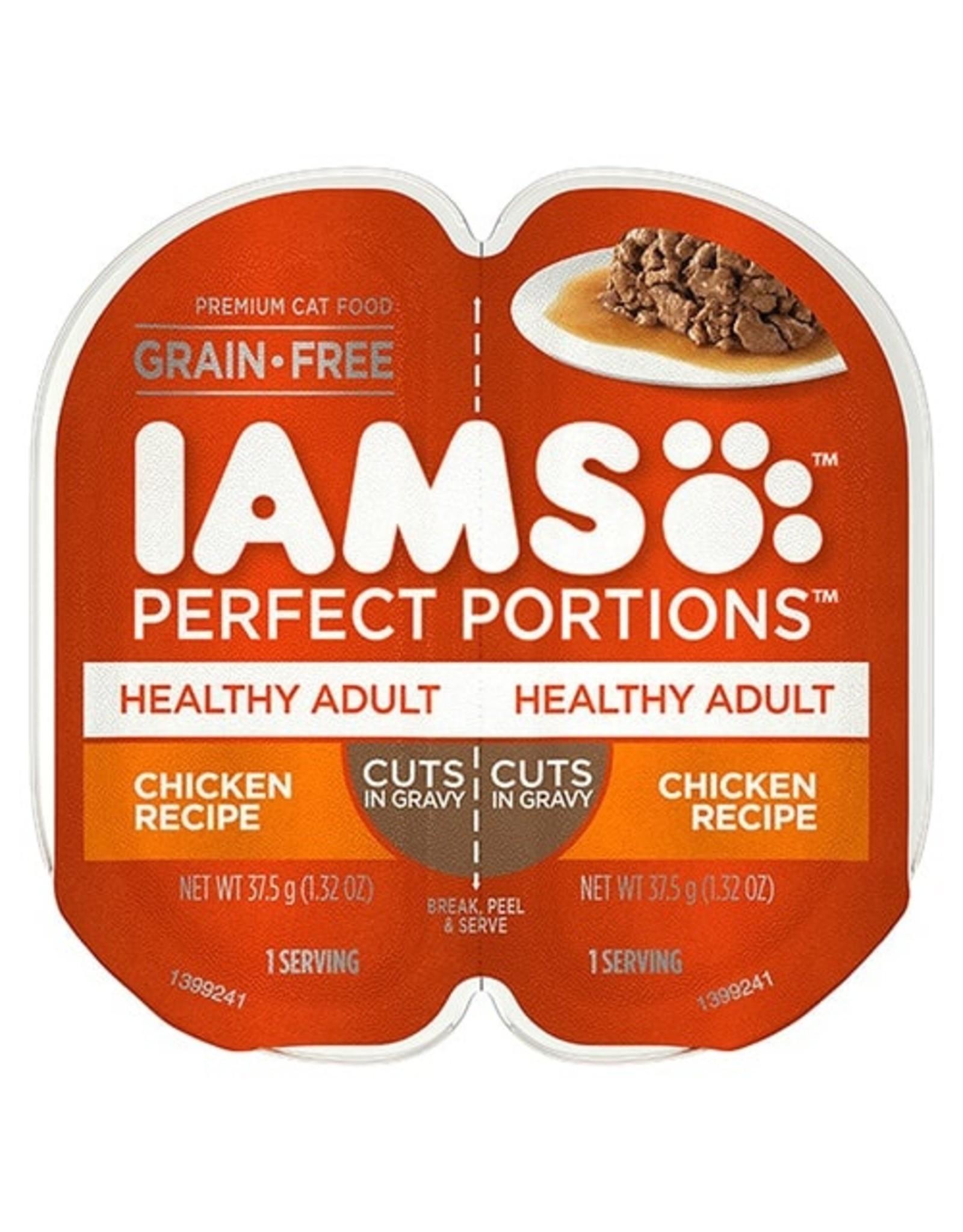IAMS COMPANY IAMS PERFECT PORTIONS HEALTHY ADULT CHICKEN CIG 2.6OZ CASE OF 24