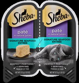 MARS PET CARE SHEBA PERFECT PORTIONS SIGNATURE SEAFOOD PATE 2.6OZ CASE OF 24