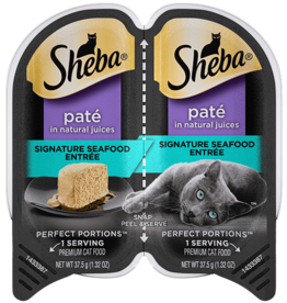 MARS PET CARE SHEBA PERFECT PORTIONS SEAFOOD PATE 2.6OZ