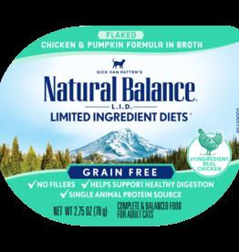 NATURAL BALANCE PET FOODS, INC NATURAL BALANCE CAT LID CHICKEN & PUMPKIN CUP 2.75OZ