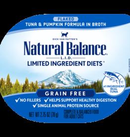 NATURAL BALANCE PET FOODS, INC NATURAL BALANCE CAT LID TUNA & PUMPKIN CUP 2.75OZ