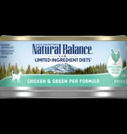 NATURAL BALANCE PET FOODS, INC NATURAL BALANCE CAT CAN CHICKEN & GREEN PEAS 3OZ CASE OF 24