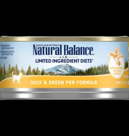 NATURAL BALANCE PET FOODS, INC NATURAL BALANCE CAT DUCK & GREEN PEA 5.5OZ