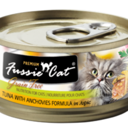 FUSSIE FUSSIE CAT TUNA WITH ANCHOVIES 2.82OZ CASE OF 24