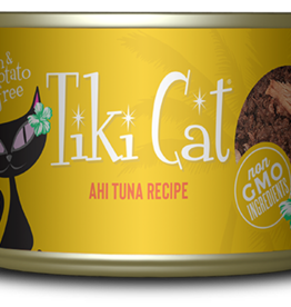 TIKI TIKI CAT HAWAIIAN AHI TUNA 2.8OZ CASE OF 12