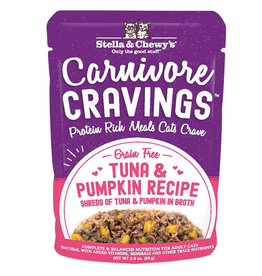 STELLA & CHEWY'S LLC STELLA & CHEWY'S CAT CARNIVORE CRAVINGS TUNA 2.8OZ CASE OF 24