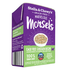 STELLA & CHEWY'S LLC STELLA & CHEWY'S CAT MARVELOUS MORSELS CHICKEN 5.5OZ CASE OF 12