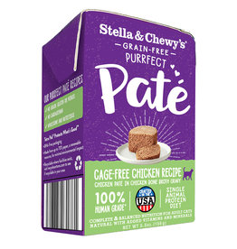 STELLA & CHEWY'S LLC STELLA & CHEWY'S PURRFECT CAT PATE CHICKEN 5.5OZ CASE OF 12