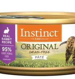 NATURE'S VARIETY NATURES VARIETY INSTINCT CAT RABBIT 5.5OZ CASE OF 12