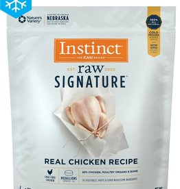 NATURE'S VARIETY NATURE'S VARIETY INSTINCT CAT FROZEN RAW CHICKEN MEDALLION 2.7LBS
