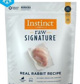NATURE'S VARIETY NATURE'S VARIETY INSTINCT CAT FROZEN RAW BITES FROZEN RABBIT 1.25LBS