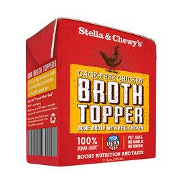 STELLA & CHEWY'S LLC STELLA & CHEWY'S BROTH TOPPER GRASS FED CHICKEN 11OZ
