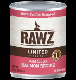 RAWZ RAWZ DOG CAN LID SALMON 12.5OZ