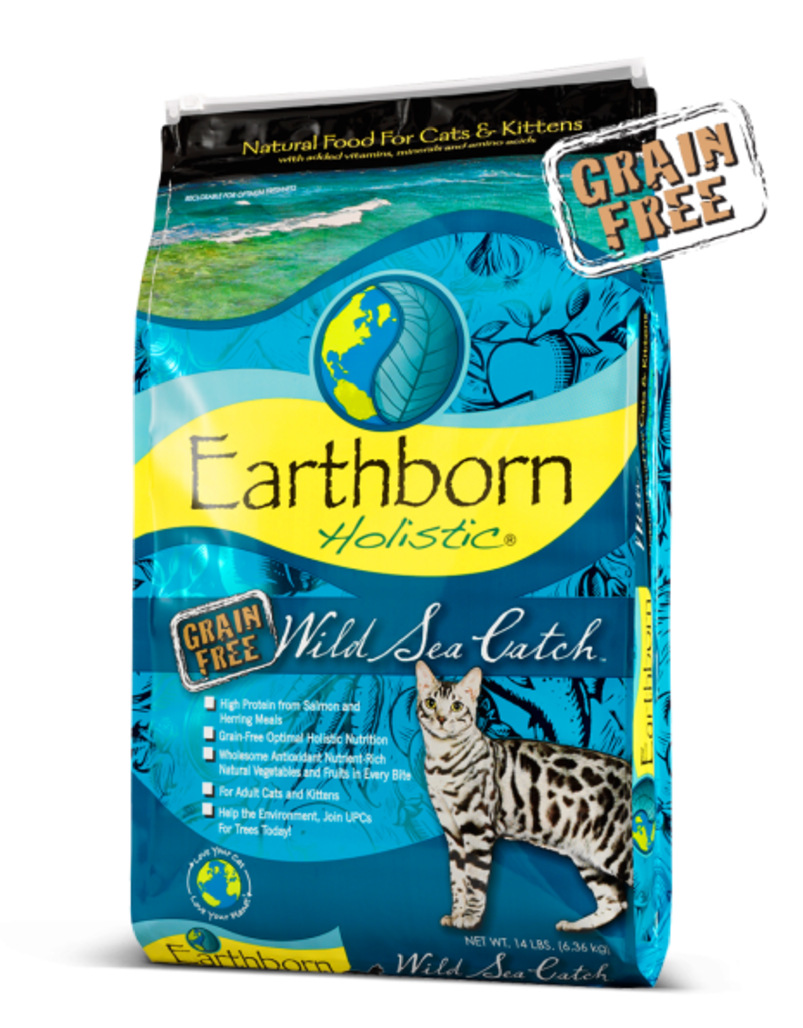 EARTHBORN EARTHBORN HOLISTIC CAT WILD SEA CATCH 5#