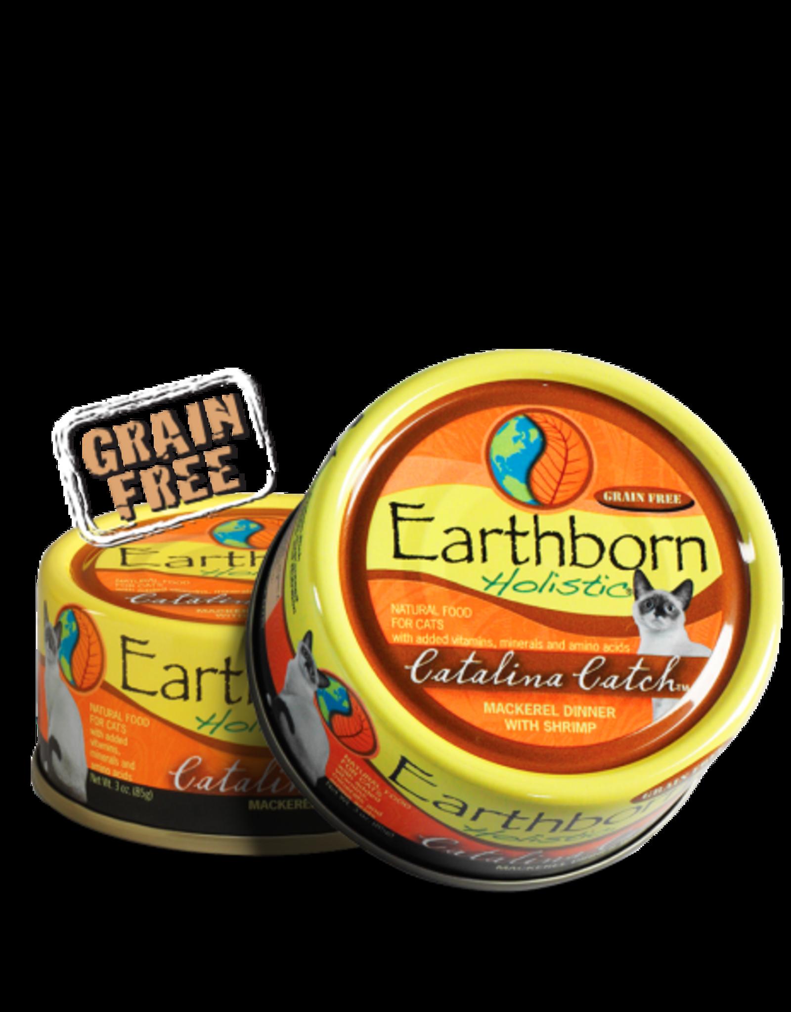 EARTHBORN EARTHBORN HOLISTIC CATALINA CATCH MACKEREL & SHRIMP 3OZ CASE OF 24