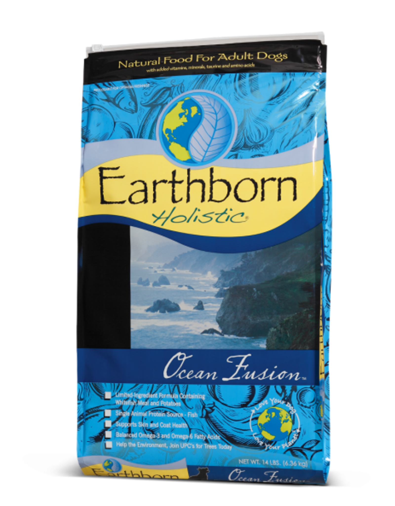 MIDWEST PET FOOD EARTHBORN HOLISTIC DOG OCEAN FUSION 14LBS