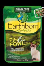 EARTHBORN EARTHBORN HOLISTIC CAT FIN & FOWL POUCH 3OZ CASE OF 24