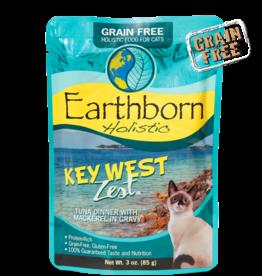 EARTHBORN EARTHBORN HOLISTIC CAT KEY WEST ZEST POUCH 3OZ CASE OF 24