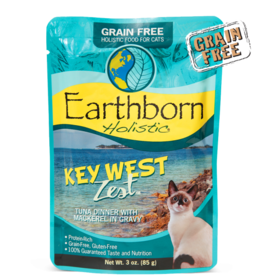 EARTHBORN EARTHBORN HOLISTIC CAT KEY WEST ZEST POUCH 3OZ