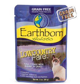 EARTHBORN EARTHBORN HOLISTIC CAT LOW COUNTRY FARE POUCH 3OZ CASE OF 24