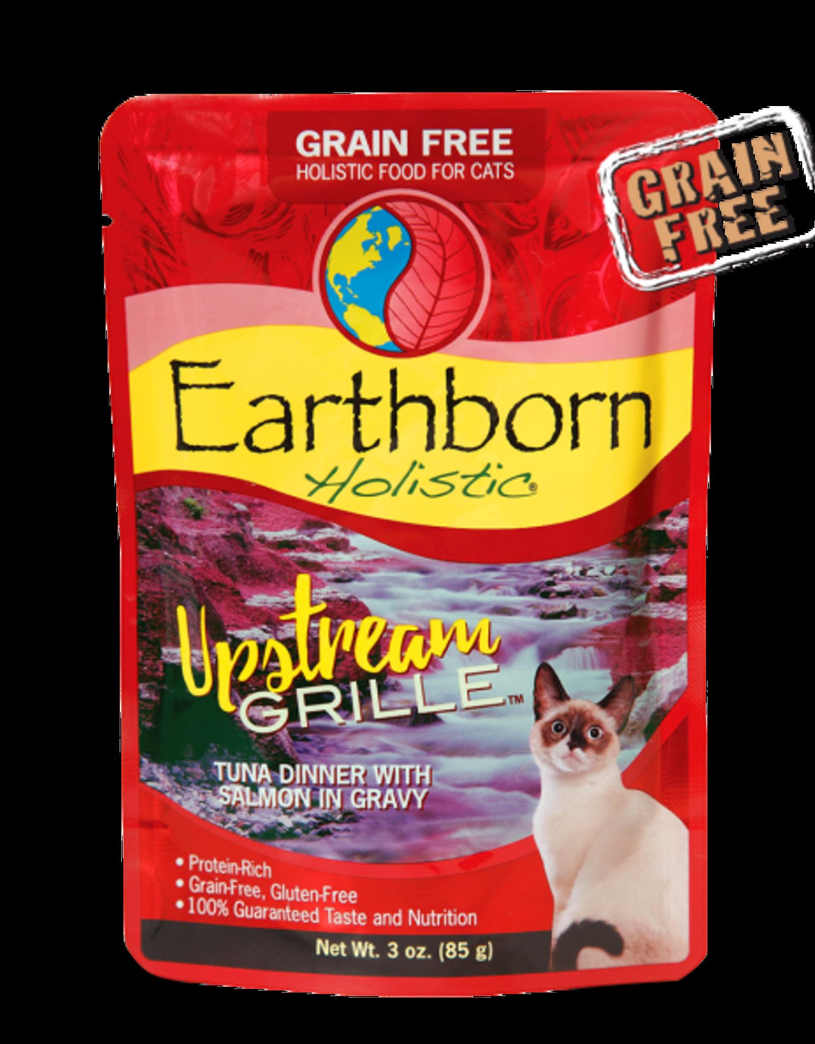 EARTHBORN EARTHBORN HOLISTIC CAT UPSTREAM GRILLE POUCH 3OZ