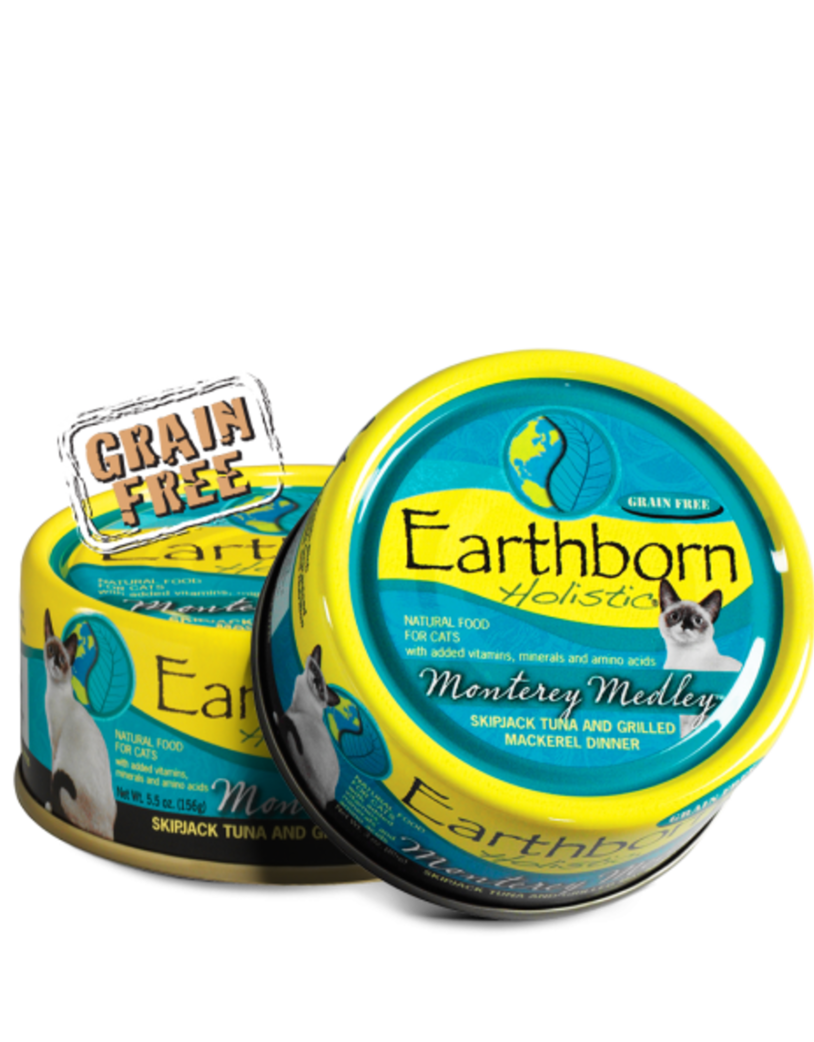 EARTHBORN EARTHBORN HOLISTIC CAT MONTEREY MEDLEY CAN 3OZ CASE OF 24