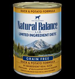 NATURAL BALANCE PET FOODS, INC NATURAL BALANCE DOG DUCK & POTATO 6OZ