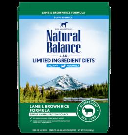 NATURAL BALANCE PET FOODS, INC NATURAL BALANCE LID LAMB & RICE PUPPY 12LBS