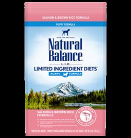 NATURAL BALANCE PET FOODS, INC NATURAL BALANCE LID SALMON & RICE PUPPY 4LBS