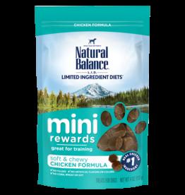 NATURAL BALANCE PET FOODS, INC NATURAL BALANCE MINI REWARD TREAT CHICKEN  4OZ