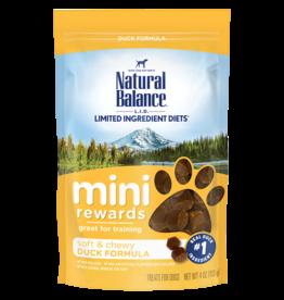 NATURAL BALANCE PET FOODS, INC NATURAL BALANCE MINI REWARD TREAT DUCK  4OZ