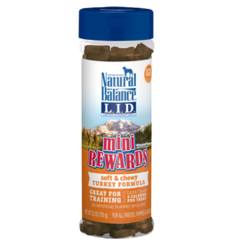 NATURAL BALANCE PET FOODS, INC NATURAL BALANCE MINI REWARD TURKEY 5.3OZ