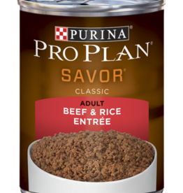 PRO PLAN DOG CAN BEEF & RICE 13OZ