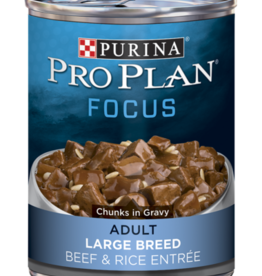 PRO PLAN DOG CAN LARGE BREED BEEF 13OZ