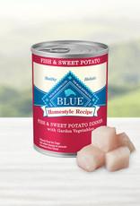 BLUE BUFFALO COMPANY BLUE BUFFALO DOG CAN FISH & SWEET POTATO 12.5OZ