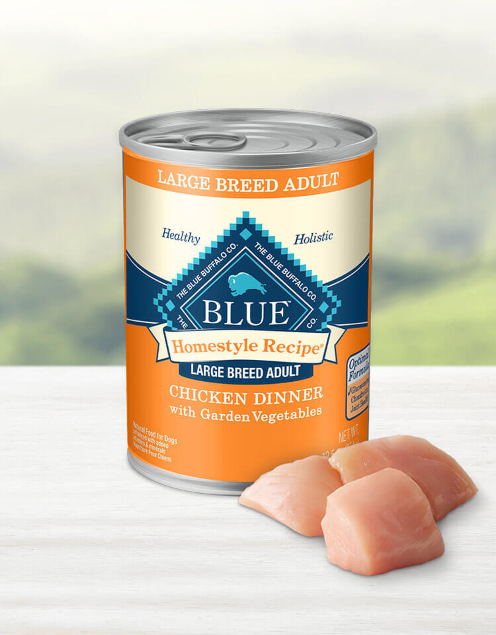BLUE BUFFALO COMPANY BLUE BUFFALO DOG CAN LARGE BREED CHICKEN 12OZ