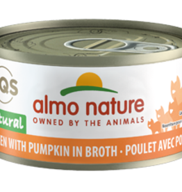 ALMO NATURE USA INC ALMO NATURE CAT CHICKEN & PUMPKIN 2.47OZ