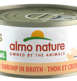 ALMO NATURE USA INC ALMO NATURE CAT TUNA & SHRIMP 2.47OZ