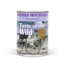 DIAMOND PET FOODS TASTE OF THE WILD DOG CAN SIERRA MOUNTAIN 13.2OZ