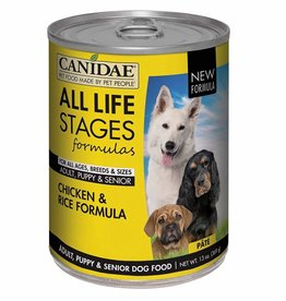 CANIDAE PET FOODS CANIDAE DOG CAN ALL LIFE STAGES CHICKEN & RICE 13 OZ CASE OF 12
