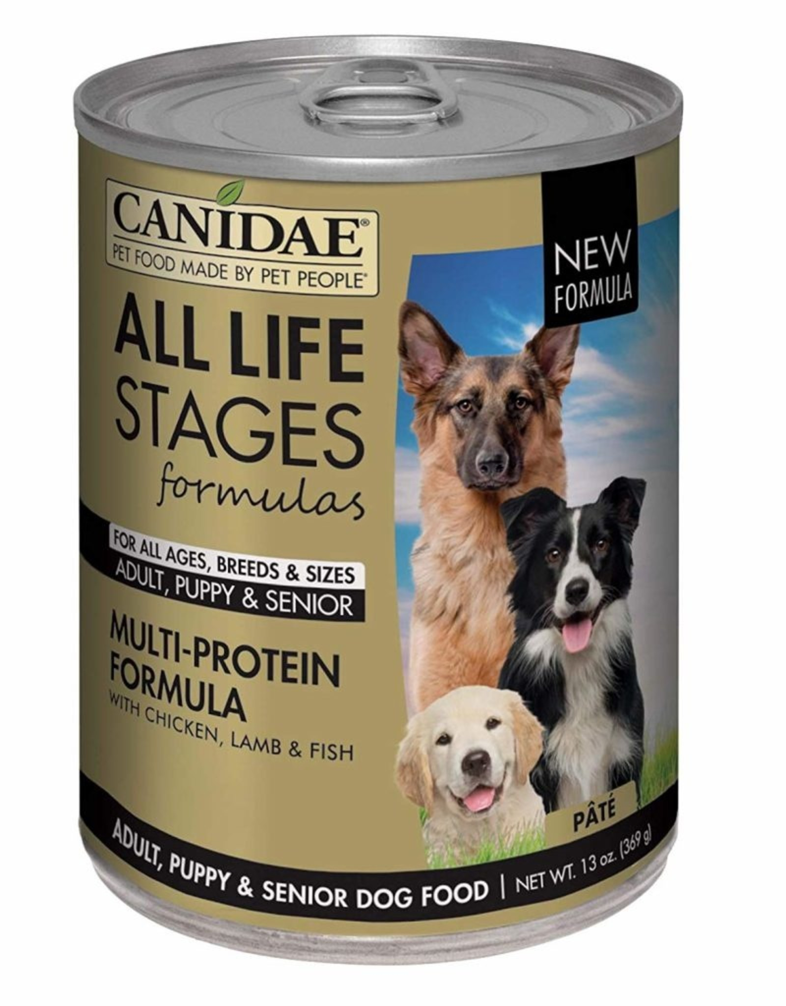 CANIDAE PET FOODS CANIDAE DOG CAN ALL LIFE STAGES MULTI-PROTEIN 13.2 OZ CASE OF 12